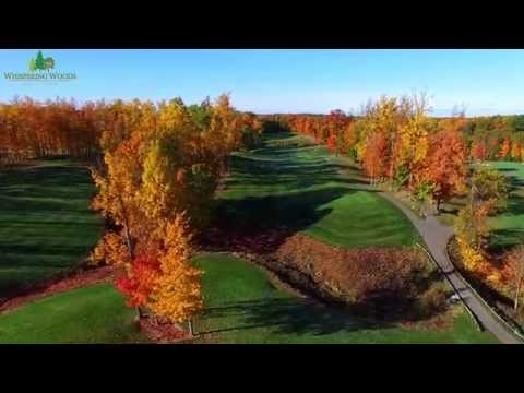 Whispering Woods Golf Club Aerial Footage